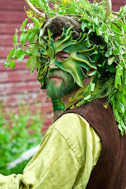 One of the druids at the Fairie Festival Glen Rock PA 2012