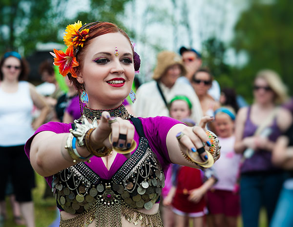 Dancer from Transcendence Tribal Fairie Festival Glen Rock PA 2012