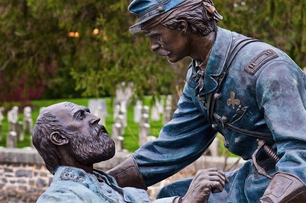 Friend to Friend Masonic Memorial. Gettysburg National Cemetery.