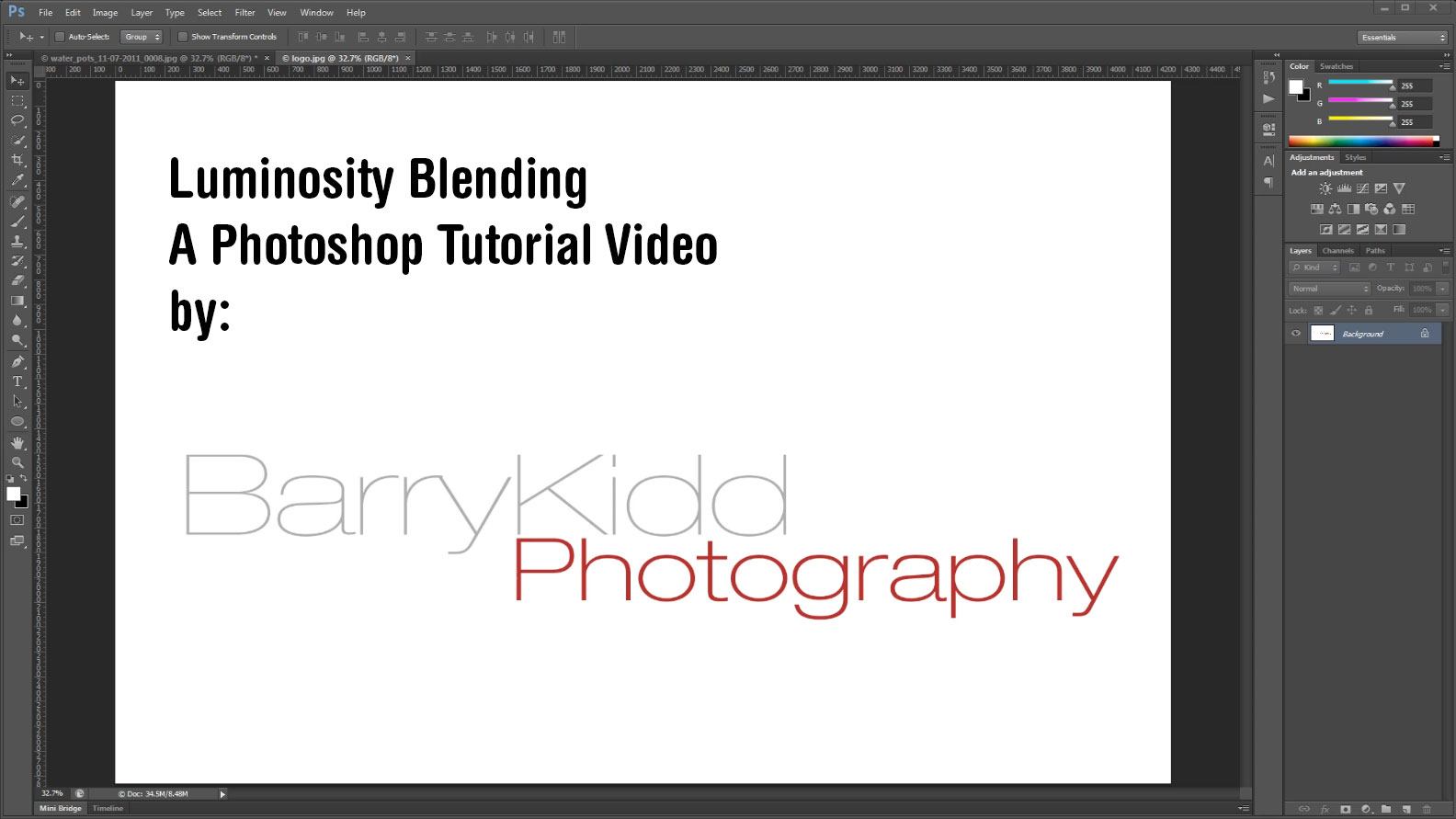 Luminosity blending mode in adobe photoshop a tutorial video luminosity blending mode in adobe photoshop screenshot baditri Gallery