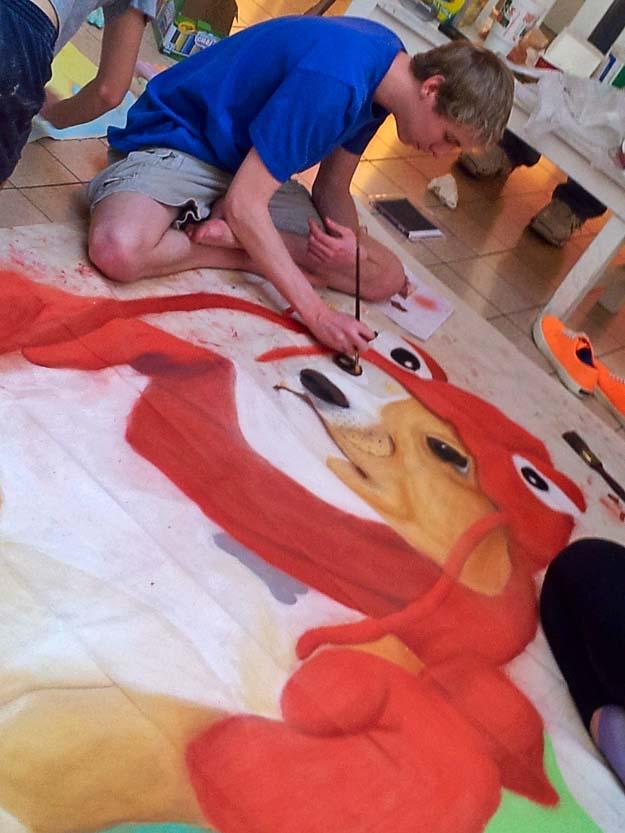 Chalk It Up Lobster Dog!