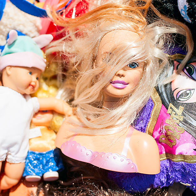 Much loved Barbie at the Red Lion Yard Sale 2013.