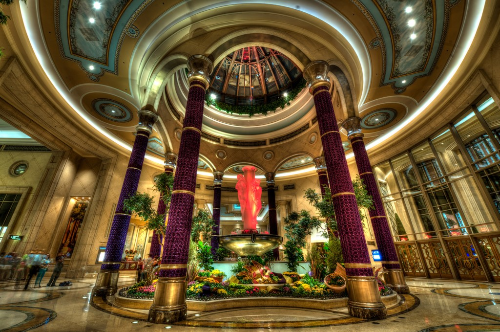 The Grand entrance of The Palazzo, our home away from home while on vacation in Las Vegas