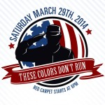 Logo for the 2014 These Colors Don't Run benefit for The Keystone Wounded Warriors