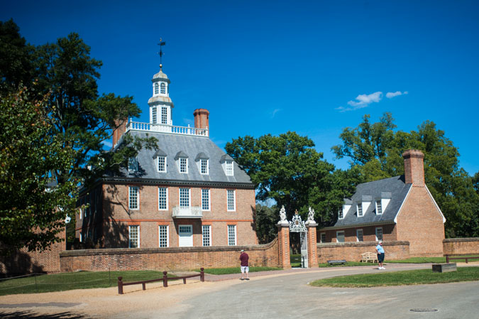 Governor's Palace at Colonial Williamsburg