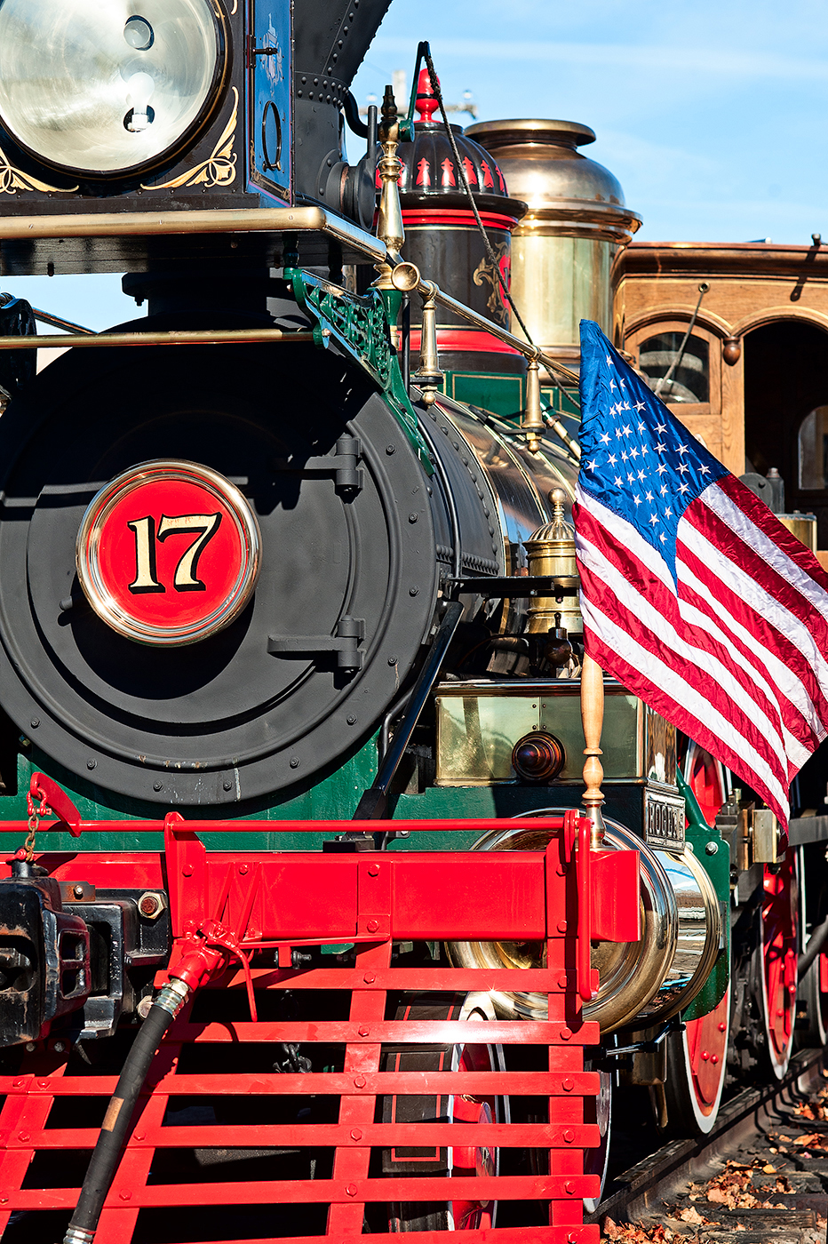 "Photo of the Steam Locomotive NCRR 17 ""The York"" at Steam into History, New Freedom,"