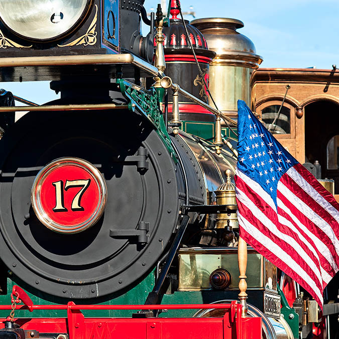 York 17 Steam Locomotive Located at the Steam into History Program, New Freedom, Pennsylvania