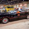 The Batmobile arrives at Motorama 2014