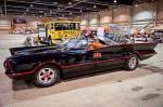 The Batmobile arrives at Motorama 2014