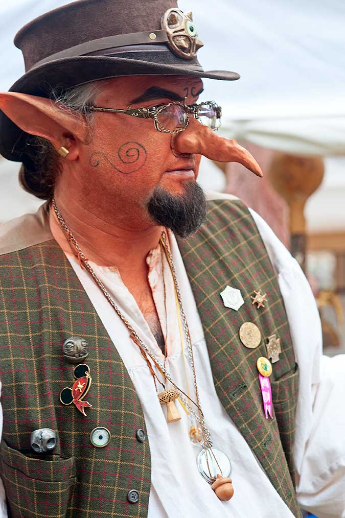 Vender at the 23rd Annual May Day Fairie Festival at Spoutwood Farm, Glen Rock, PA in 2014
