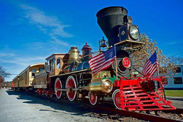 York 17 Seam Locomotive