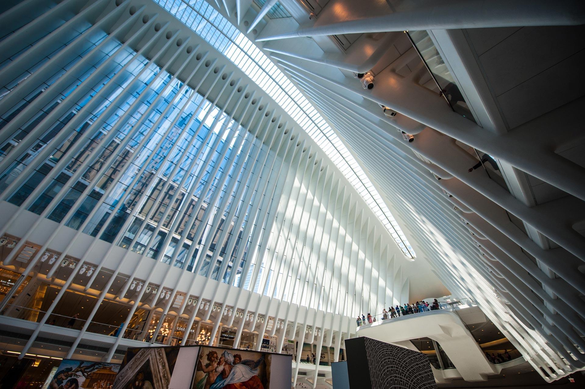 Inside of the World Trade Center station (PATH), World Trade Center, New York, NY, USA
