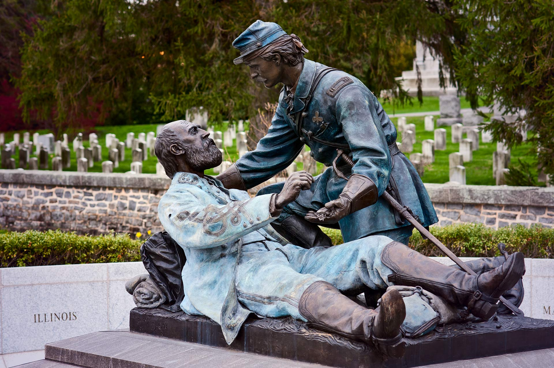 Friend to Friend, The Masonic Memorial at the Gettysburg National Cemetery is a perfect example of stock photography for very specalized needs.